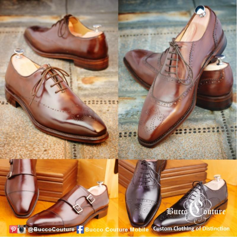 Bucco Couture - The Man of Style - Custom suits - brown shoes