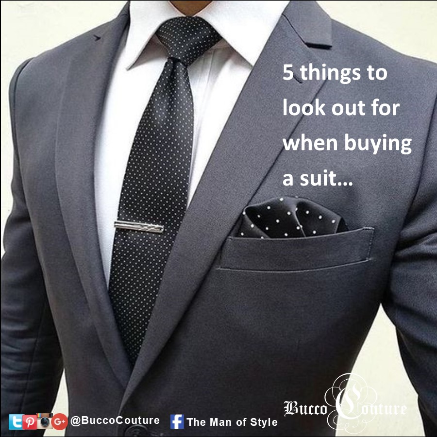 Bucco Couture - The Man of Style - Custom suits - buying suit